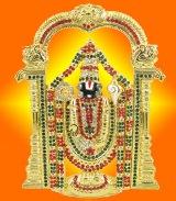 Gold Plated Venkateswara Murti - GMV001