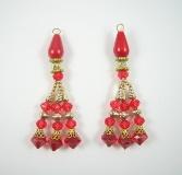 Indian Designer Blouse Tassel Pair - JS317