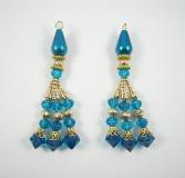 Indian Designer Blouse Tassel Pair - JS319