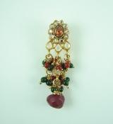 Indian One Gram Gold Jewelry Hair Pin - JU005